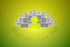 Angestellter des Jahrpreises Lizenzfreies Stockfoto