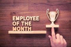 Angestellter des Monats lizenzfreies stockfoto