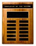 Angestellter des Monats-Preises Stockfotos
