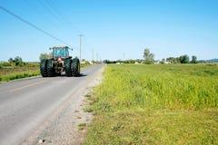 Angestellter Traktor stockbild