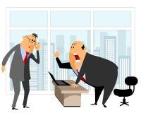 Angestellter und Leiter Lizenzfreies Stockfoto