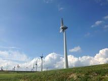 Angetrieben durch Wind Stockfotografie