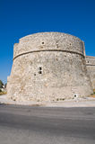 Angevine-Swabian Castle. Manfredonia. Puglia. Italy. Royalty Free Stock Photography