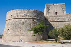 Angevine-Swabian Castle. Manfredonia. Puglia. Italy. Stock Photos