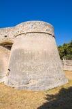 Angevine-Swabian Castle. Manfredonia. Puglia. Italy. Royalty Free Stock Photo