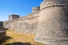 Angevine-Swabian Castle. Manfredonia. Puglia. Italy. Royalty Free Stock Image