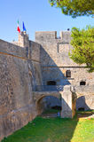 Angevine-Swabian Castle. Manfredonia. Puglia. Italy. Stock Photography
