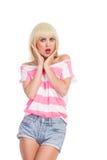 Angewidertes Mädchen Lizenzfreie Stockbilder