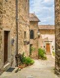 Scenic sight in Anghiari, in the Province of Arezzo, Tuscany, Italy. Anghiari is a hilltop town and comune in the Province of Arezzo, Tuscany, Italy. Bordering stock image