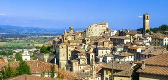 Anghiari médiéval Toscane, Italie Photographie stock libre de droits