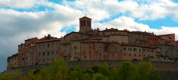 Anghiari, a nice country in Italy Royalty Free Stock Photography