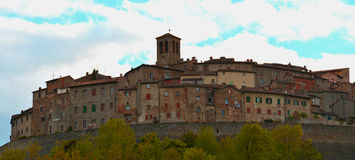 Anghiari, a nice country in Italy Stock Photo
