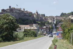 Anghiari town Royalty Free Stock Photography