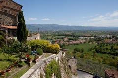 Anghiari Włochy Wirtualna wycieczka turysyczna Tuscany Zdjęcia Royalty Free