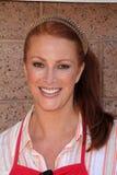 Angie Everhart, υπόλοιπος κόσμος ολισθήσεων Στοκ Φωτογραφίες
