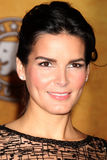 Angie Harmon. LOS ANGELES - DEC 16:  Angie Harmon at the Nomination Announcement for the 2011 Screen Actor's Guild Awards at Silver Screen Theater - Pacific Royalty Free Stock Photography