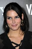 Angie Harmon. At Bally's Hollywood Domino Party Benefitting Art Of Elysium. Andaz, West Hollywood, CA. 02-20-09 Stock Image
