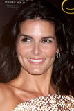Angie Harmon arrives at the 37th Annual Gracie Awards Gala Stock Image
