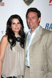 Angie Harmon,Jason Sehorn Royalty Free Stock Photo