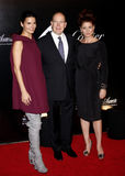 Angie Harmon, Prince Albert II and Debra Messing Royalty Free Stock Images