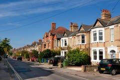 angielscy domy Zdjęcie Stock
