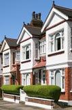 angielscy domy zdjęcie royalty free
