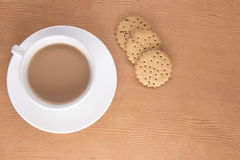 Angielska herbata z ciastkami Zdjęcia Royalty Free