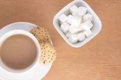 Angielska herbata z ciastkami Obraz Stock