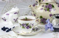 Angielska popołudniowa herbata zdjęcie stock