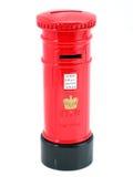 Angielska Skrzynka pocztowa. Fotografia Royalty Free