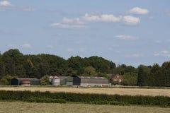 Angielska wieś, Holmer zieleń, Buckinghamshire zdjęcia stock