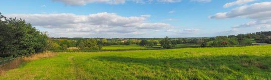 Angielska wieś Tanworth w Arden obraz stock