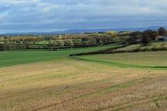 Angielska wieś Wensleydale Yorkshire UK zdjęcia stock