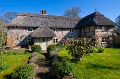 Angielska wioski chałupa Obrazy Royalty Free