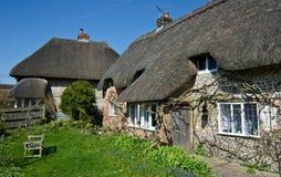 Angielska wioski chałupa Fotografia Stock