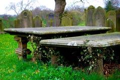 Angielski cmentarz Fotografia Royalty Free