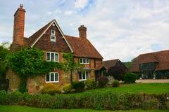 Angielski dom na wsi Zdjęcia Royalty Free