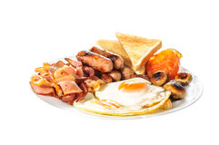 Angielski Duży śniadanie Zdjęcie Stock
