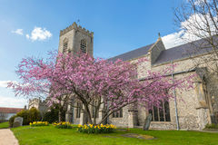 Angielski Farny kościół Obrazy Royalty Free