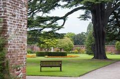 Angielski Formalny ogród Zdjęcie Stock