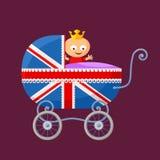 Angielski Królewski dziecko royalty ilustracja