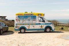 Angielski lody samochód dostawczy Obrazy Royalty Free