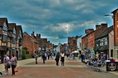Angielski miasteczko Obraz Royalty Free