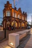 Angielski pub przy półmrokiem, Obraz Royalty Free