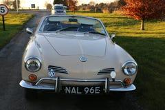 Angielski Samochodowy karmy Gia na kraju zboczu Zdjęcie Royalty Free