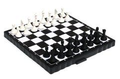Angielski szachy set Obraz Royalty Free