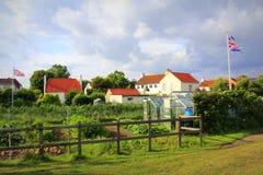 Angielski wioska widok Obrazy Royalty Free
