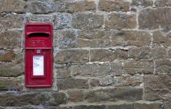 Angielski wioski poczta pudełko Zdjęcie Royalty Free