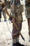 Angielski wojsko żołnierz Zdjęcia Royalty Free
