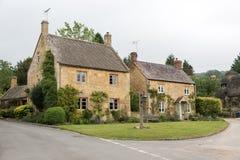 angielskie domy Zdjęcia Royalty Free
